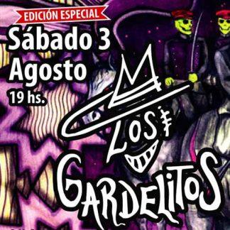 Entradas Los Gardelitos en Groove 3 de agosto